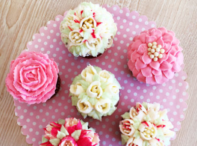 Cupcake Flower Collection