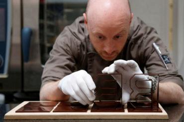 Companhia belga leva impressão 3D ao chocolate.